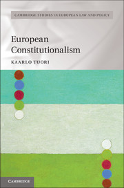 Cambridge Studies in European Law and Policy