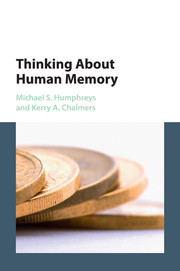 Thinking About Human Memory