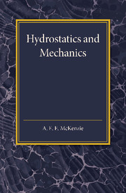 Hydrostatics and Mechanics