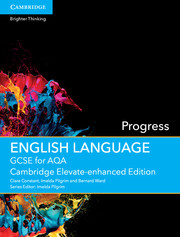 GCSE English Language for AQA Progress Cambridge Elevate Enhanced Edition (1 Year) School Site Licence