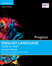GCSE English Language for AQA Progress Student Book and Writing Workshops with Cambridge Elevate Enhanced Editions (2 Years)