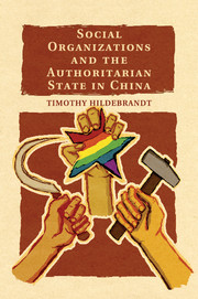 Social Organizations and the Authoritarian State in China