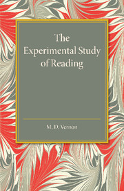 The Experimental Study of Reading