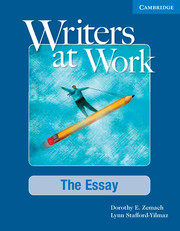 writers at work the essay writers at work  writers at work the essay student s book and writing skills interactive pack