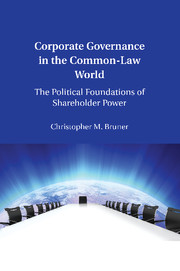 Corporate Governance in the Common-Law World