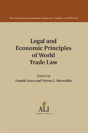 The American Law Institute Reporters Studies on WTO Law
