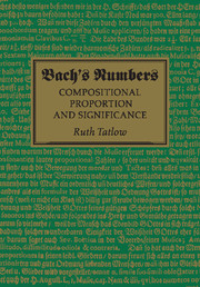 Bach's Numbers