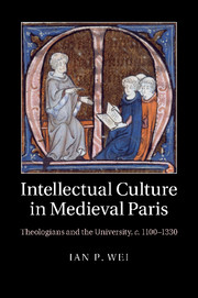 Intellectual Culture in Medieval Paris