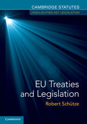 EU Treaties and Legislation