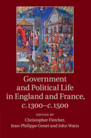 Government and Political Life in England and France, c.1300–c.1500