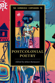 The Cambridge Companion to Postcolonial Poetry