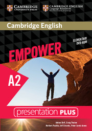 Cambridge English Empower Elementary Presentation Plus (with Student's Book)