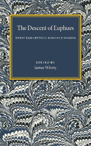 The Descent of Euphues