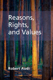 Reasons, Rights, and Values
