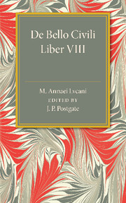 De Bello Civili Liber 8