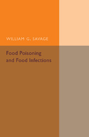 Food Poisoning and Food Infections