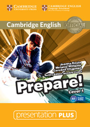 Cambridge English Prepare! Level 1 Presentation Plus DVD-ROM