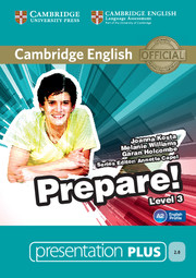 Cambridge English Prepare! Level 3 Presentation Plus DVD-ROM