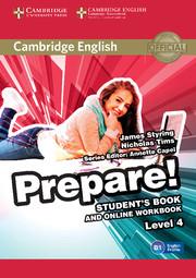 Cambridge English Prepare! Level 4 Student's Book and Online Workbook