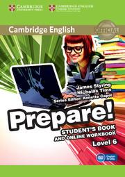 Cambridge English Prepare! Level 6