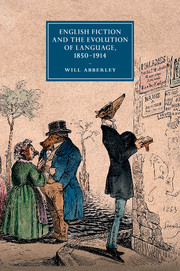 English Fiction and the Evolution of Language, 1850–1914