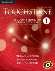 Touchstone Level 1 Student's Book with Online Course (Includes Online Workbook)