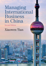 Managing International Business in China