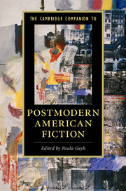The Cambridge Companion to Postmodern American Fiction