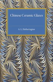 Chinese Ceramic Glazes