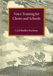 Voice Training for Choirs and Schools