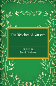 The Teacher of Nations