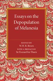 Essays on the Depopulation of Melanesia
