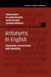 Antonyms in English