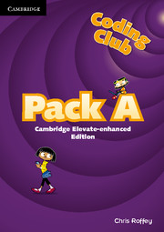 Coding Club Pack A Cambridge Elevate Enhanced Edition (1 Year) School Site Licence