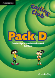 Coding Club Pack D Cambridge Elevate Enhanced Edition (1 Year) School Site Licence