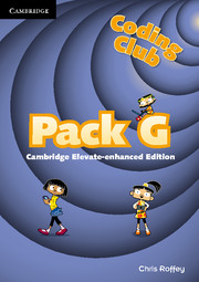 Coding Club Pack G Cambridge Elevate Enhanced Edition (1 Year) School Site Licence