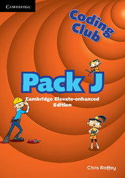 Coding Club Pack J Cambridge Elevate Enhanced Edition (1 Year) School Site Licence
