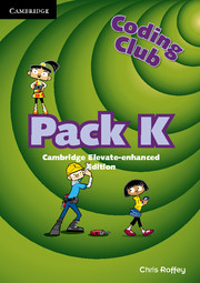 Coding Club Pack K Cambridge Elevate Enhanced Edition (1 Year) School Site Licence