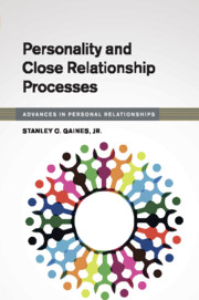 Personality and Close Relationship Processes