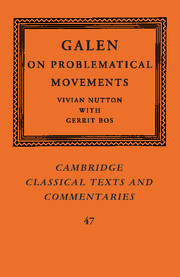 Galen: On Problematical Movements