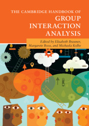 The Cambridge Handbook of Group Interaction Analysis