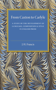 From Caxton to Carlyle