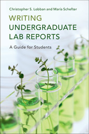 Writing Undergraduate Lab Reports