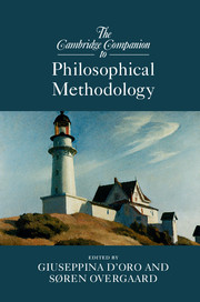 The Cambridge Companion to Philosophical Methodology Couverture du livre
