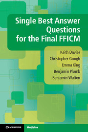 Single Best Answer Questions for the Final FFICM