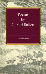Poems by Gerald Bullett