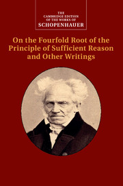 Selected writings august cieszkowski nineteenth century schopenhauer on the fourfold root of the principle of sufficient reason and other writings fandeluxe Images