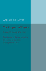 The Progress of Physics
