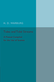 Tides and Tidal Streams