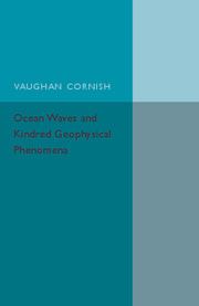 Ocean Waves and Kindred Geophysical Phenomena
